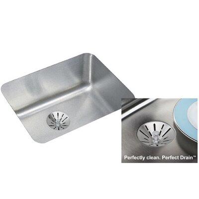 Lustertone 21 x 17 Undermount Kitchen Sink with Perfect Drain