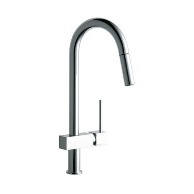 Avado Single Handle Deck Mount Kitchen Faucet with  Pulldown Spray