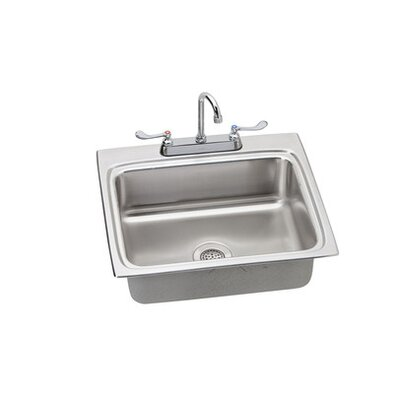 Lustertone 25 x 22 Kitchen Sink Finish: Chrome