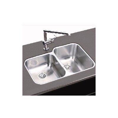 31.25 x 20.5 Double Basin Undermount Kitchen Sink