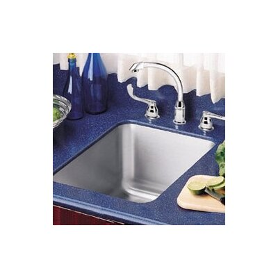 Lustertone 15.5 x 19.5 Undermount Kitchen Sink