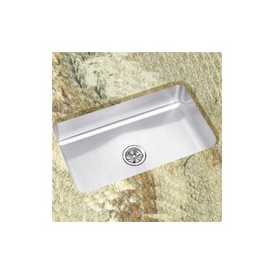 Lustertone 30.5 x 18.5 Undermount Single Bowl Kitchen Sink