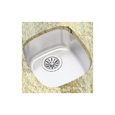 Harmony 14.25 x 15.75 Undermount Single Bowl Kitchen Sink