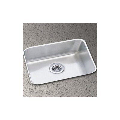 Lustertone 14.5 x 11.75 Undermount Single Bowl Kitchen Sink