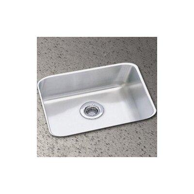 Lustertone 14.5 x 11.75 Undermount Single Bowl Kitchen Sink