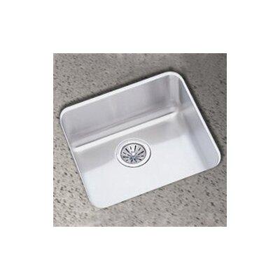 Lustertone 18.5 x 18.5 Undermount Single Bowl Kitchen Sink