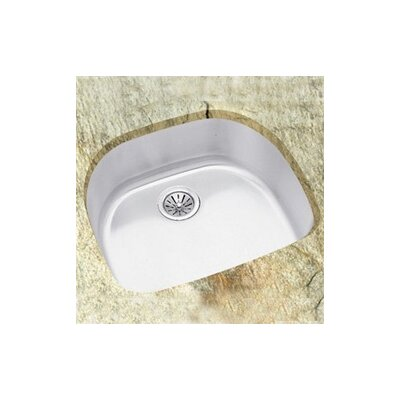 Lustertone 23.56 x21.13 Undermount Single Bowl Kitchen Sink