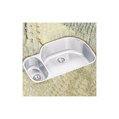 Lusterone 32 x 21 Double Basin Undermount Kitchen Sink