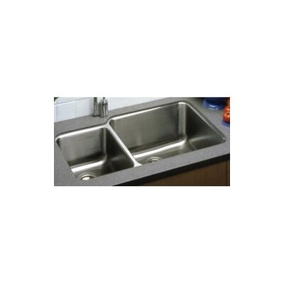 Lusterone 35 x 21 Double Basin Undermount Kitchen Sink