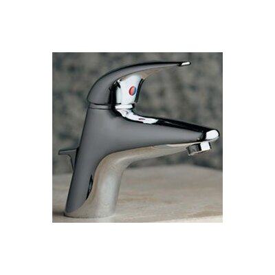 Allure Single Hole Electronic Faucet with Single Lever Handle Finish: Black