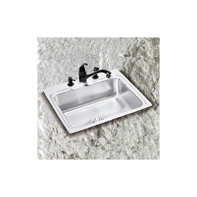 Lustertone 22 x 19.5 Single Bowl Kitchen Sink