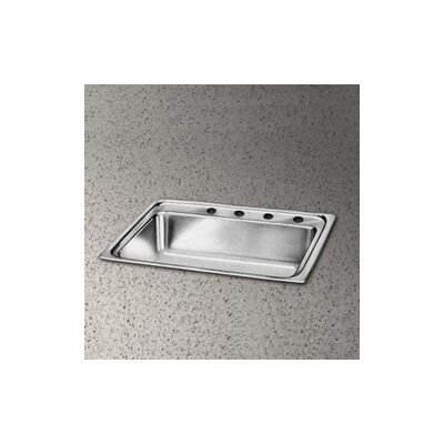Pacemaker 25 x 21.25 Single Bowl Kitchen Sink