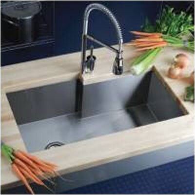 Avado 34.5 x 20.5 Single Bowl Kitchen Sink
