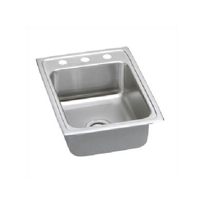 Pacemaker 17 x 22 Gourmet Single Bowl Kitchen Sink