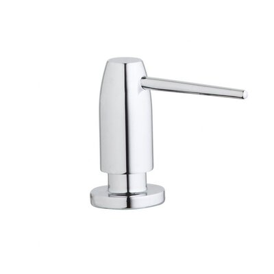 Avado Deck Mount Soap Dispenser Finish: Lustrous Steel