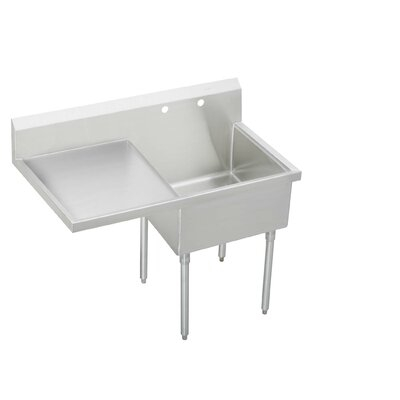 55.5 x 27.5 Single Cs-4-Commercial Scullery Sink