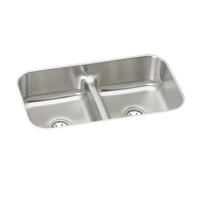 Gourmet 32.5 x 18.13 Undermount Kitchen Sink