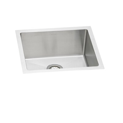 Avado 21.5 x 18.5 Stainless Steel Single Bowl Undermount Kitchen Sink