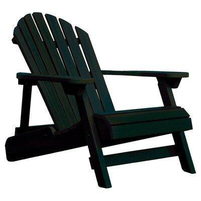 Highwood USA Highwood® & Reclining ADULT Adirondack Chair - Finish: Charleston Green