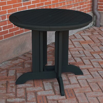 Dining Table Finish: Black, Table Size: 36 x 36