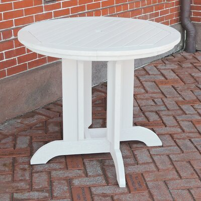 Dining Table Finish: White, Table Size: 48 x 48