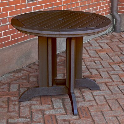Dining Table Finish: Weathered Acorn, Table Size: 36 x 36