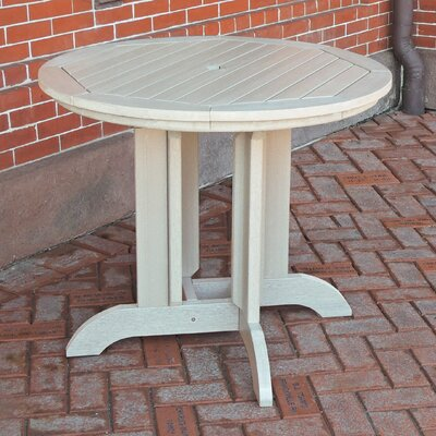 Dining Table Finish: Whitewash, Table Size: 48 x 48