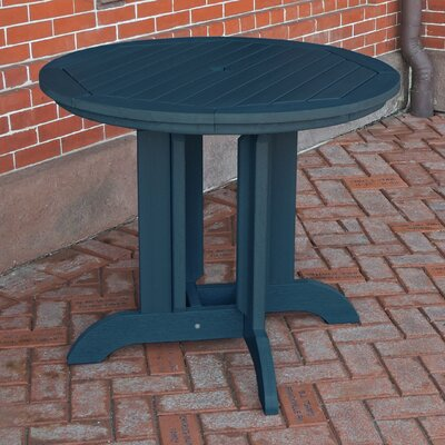 Dining Table Finish: Nantucket Blue, Table Size: 36 x 36