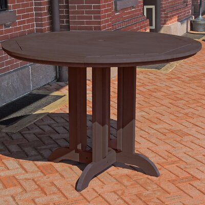 Dining Table Finish: Weathered Acorn, Table Size: 36 L x 36 W