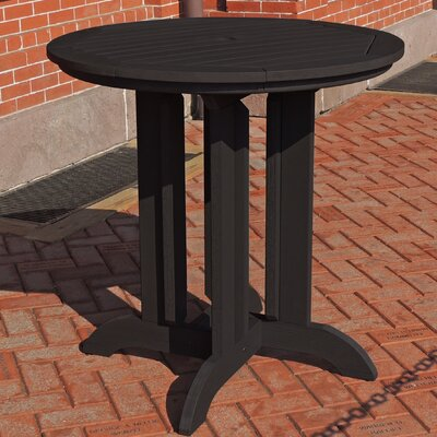 Dining Table Finish: Black, Table Size: 48 L x 48 W