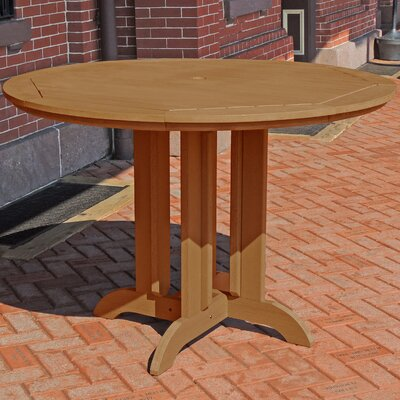 Dining Table Finish: Toffee, Table Size: 36 L x 36 W