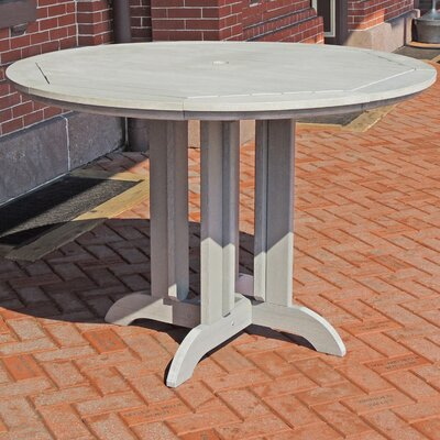 Dining Table Finish: Whitewash, Table Size: 36 L x 36 W