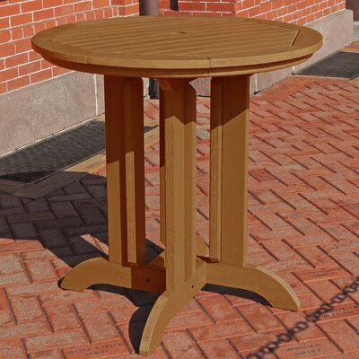 Dining Table Finish: Toffee, Table Size: 48 L x 48 W