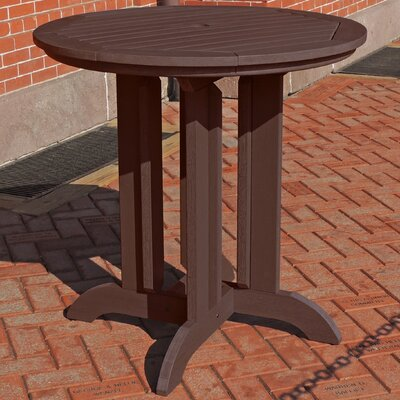 Dining Table Finish: Weathered Acorn, Table Size: 48 L x 48 W