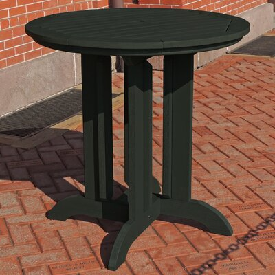 Dining Table Finish: Charleston Green, Table Size: 48 L x 48 W