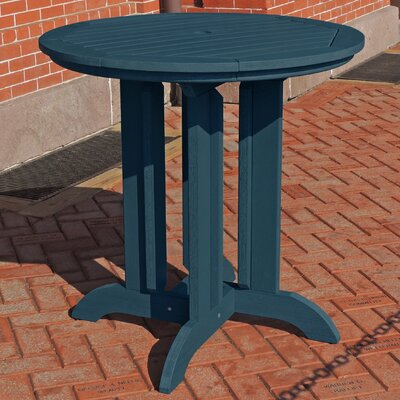 Dining Table Finish: Nantucket Blue, Table Size: 48 L x 48 W