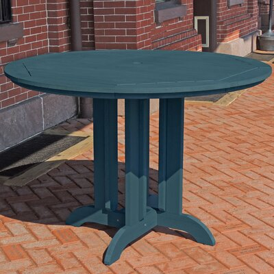 Dining Table Finish: Nantucket Blue, Table Size: 36 L x 36 W
