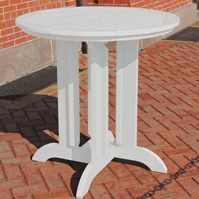 Dining Table Finish: White, Table Size: 48 L x 48 W