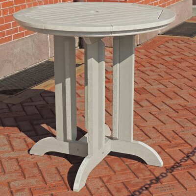 Dining Table Finish: Whitewash, Table Size: 48 L x 48 W