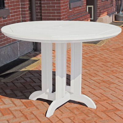 Dining Table Finish: White, Table Size: 36 L x 36 W