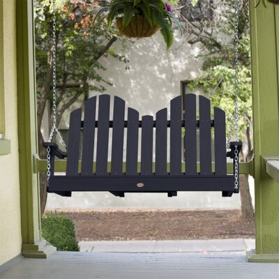 Bettrys Porch Swing Finish: Black