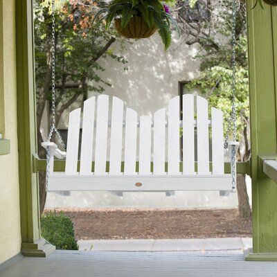 Bettrys Porch Swing Finish: White