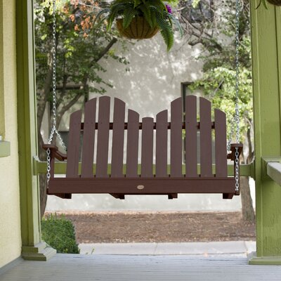 Bettrys Porch Swing Finish: Weathered Acorn