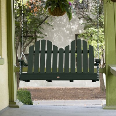 Bettrys Porch Swing Finish: Charleston Green