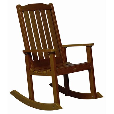 Highwood USA highwood® Lynnport Rocking chair - Finish: Weathered Acorn