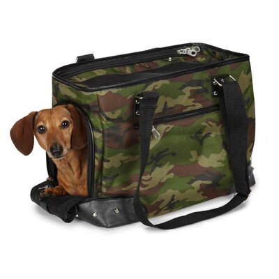 Urban Jungle Small Pet Carrier in Green Camo