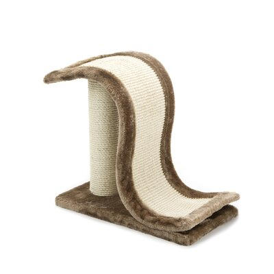 Meow Town N Slide Sisal Scratching Post