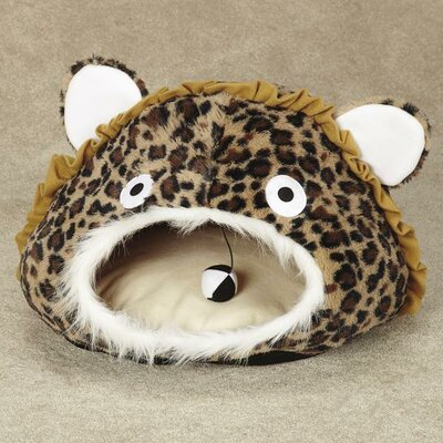 Cave Leopard Cat Tunnel Color: Brown