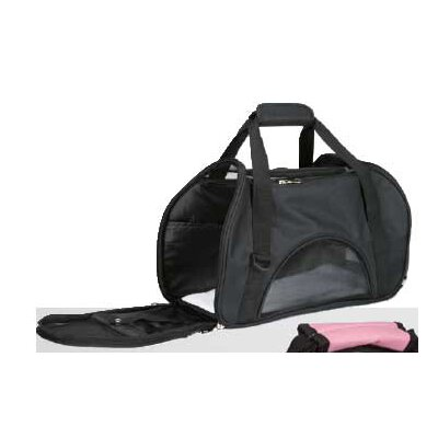 On The Go Pet Carrier Color: Black