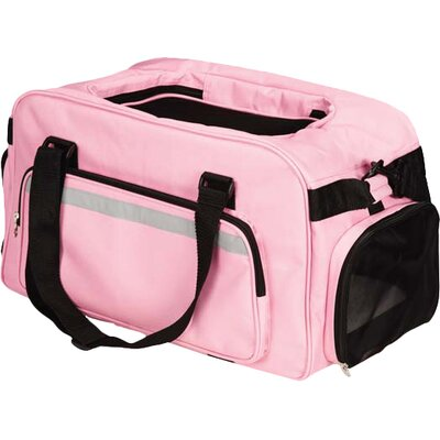 On The Go Carry Pet Carrier Color: Pink
